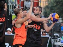 Angelo Tsagarakis - streetball Στοκ φωτογραφία με δικαίωμα ελεύθερης χρήσης