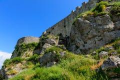 Angelokastro ruins. Stock Photo