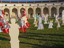 The Angels� Choir, Villa Manin, Italy Stock Image