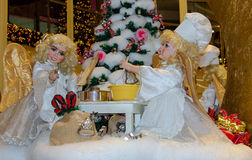 Angels Christmas Royalty Free Stock Images