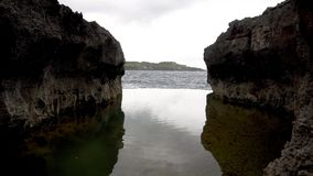Angel's Billabong beach, the natural pool on the island Nusa Penida, Indonesia. Angels Billabong beach, the natural pool on the island of Nusa Penida, Bali stock video