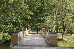 Angels Bridge; Tartu Royalty Free Stock Photos