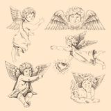 Angels. Cupids Royalty Free Stock Images