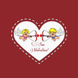 Angels Cupids Royalty Free Stock Photos