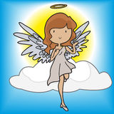 Angels and Devils Royalty Free Stock Images