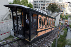 Angels Flight from Bunker Hill Stock Image