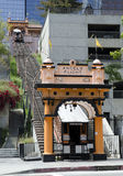 Angels Flight From Hill Street Royalty Free Stock Image