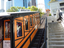 Angels Flight in Los Angeles Royalty Free Stock Image