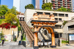 Angels Flight of Los Angeles Royalty Free Stock Photos