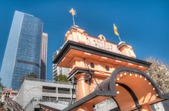 Angels Flight Royalty Free Stock Images
