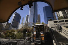 Angels Flight Railway Royalty Free Stock Images