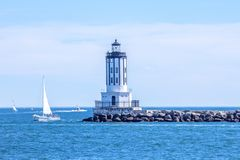 Angels Gate Lighthouse in San Pedro, California royalty free stock photos