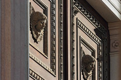 Angels Gate in Novara Stock Image