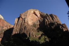 Angels landing Stock Image