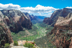 Angels Landing. Stock Images