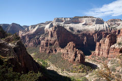 Angels Landing in Zion Stock Images