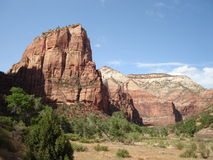 Angels Landing - Zion Royalty Free Stock Photography