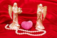 Angels love keepers Royalty Free Stock Image