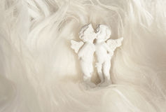 Angels in love Stock Images