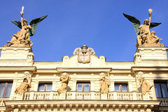 Angels  from the Old Prague City, Czech Republics Stock Image