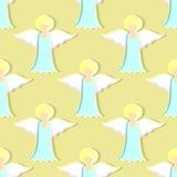 Angels Pattern Stock Image