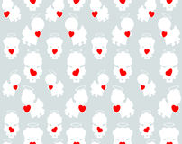 Angels pattern Royalty Free Stock Photography