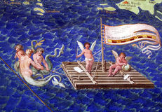 Angels raft Stock Images