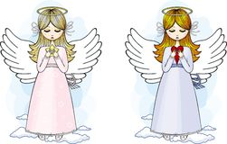 Angels set. Angel set , illustration for use in design royalty free illustration
