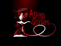 Angels and Sinners Royalty Free Stock Photo