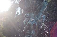 Angels statues Stock Photography