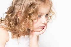 Angels, too, is sad ... Royalty Free Stock Photos