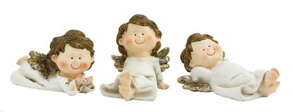 Angels white Stock Image
