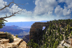 Angels Window, North Rim of the Grand Canyon Royalty Free Stock Images