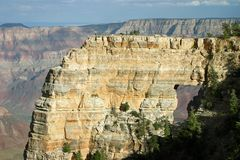 Angel's Window Rock Formation - Grand Canyon Royalty Free Stock Images