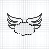 angels wings design Stock Photos