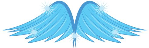 Angels Wings Stock Image