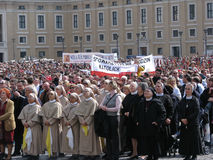angelusbenedict pope sunday vatican xvi Arkivfoton