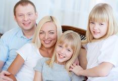 Angemessene Familie Stockbild
