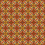 Angemessene Inselart strickte Musterbeschaffenheit Vektor gestrickter nahtloser Hintergrund lizenzfreie abbildung