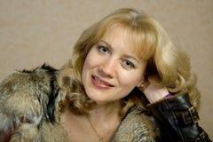 angenäm rysskvinna Royaltyfri Foto