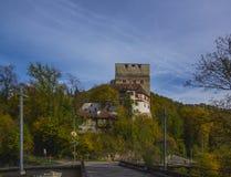 Angenstein城堡 免版税图库摄影