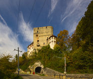 Angenstein城堡 免版税库存照片
