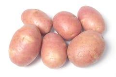 Angeordnete Kartoffeln Stockfoto