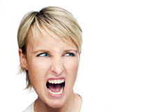 Anger Royalty Free Stock Images