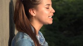 Anger Anxiety And Worry Among Teen Girls stock video footage