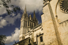 Anger Cathedral. From the back Stock Photography