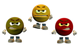anger colors Στοκ Εικόνα