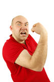 Anger man Royalty Free Stock Images