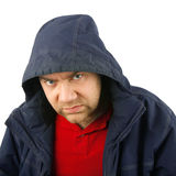 Anger man portrait Royalty Free Stock Images