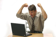 This is anger management Stock Image